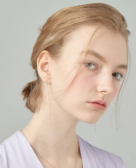 [CONTE] Modern Baguette Drop Earring (JJCEEQ0BS946SR000)