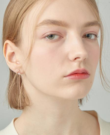 [CONTE] Basic Spinel Drop Earring (JJCEEQ0BS937SR000)
