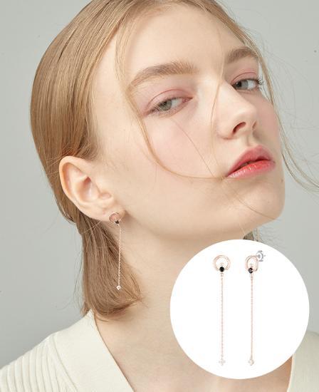 [CONTE] Modern Spinel Drop 귀걸이 (JJCEEQ0BS935SR000)