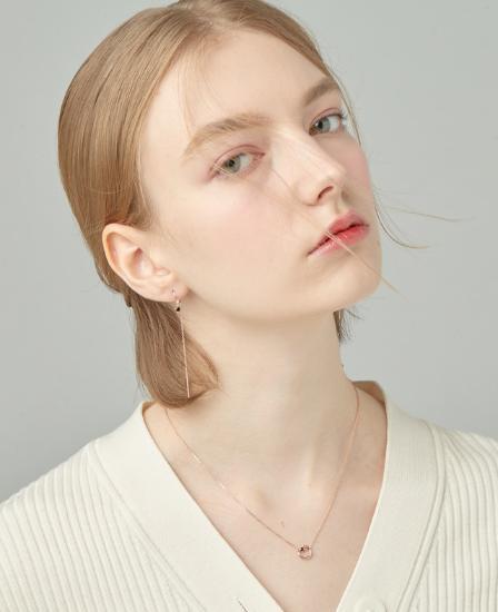 [CONTE] Modern Spinel Necklace (JJCENQ0BS935SR420)