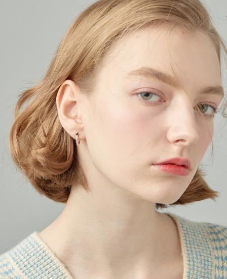 [CONTE] Basic Pearl Hoop Earring (JJCEEQ0BS951SR000)