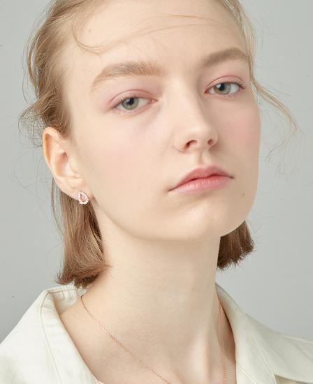 [CONTE] Basic Dew Earring (JJCEEQ0BS943SR000)
