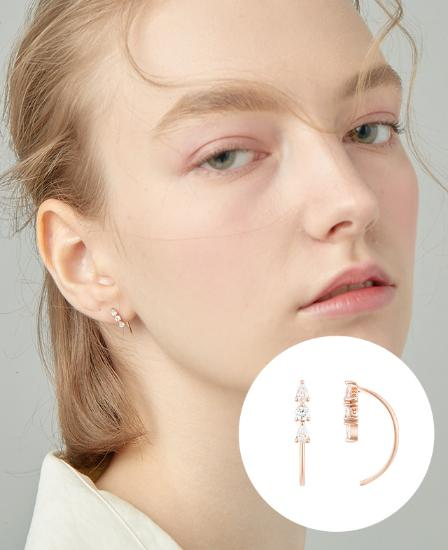 [CONTE] Basic Star Point 귀걸이 (JJCEEQ0BS944SR000)