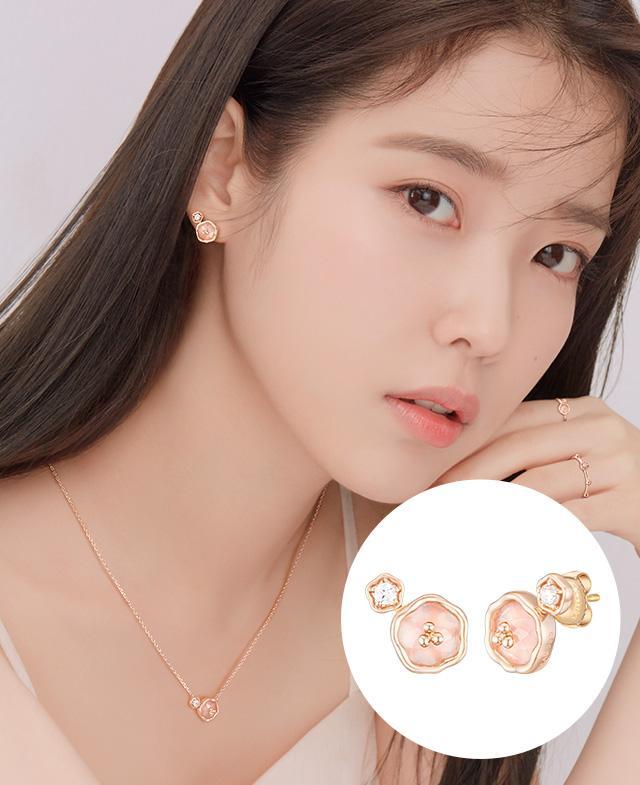[아이유착장] Flolet 14K 귀걸이 (JJFLEN0BS563R4000)