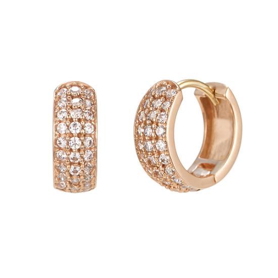 Basic 귀걸이 (14K) (JJEEEQ8AF145R4000)