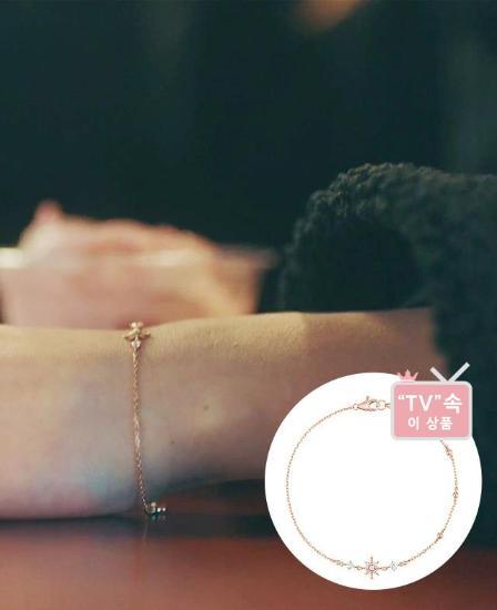 ★드라마 더킹 주얼리★ Lucerna 14K 팔찌 (JJLCBQ9AF181R47S0)