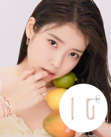 [패밀리세일] [시즌오프] Due J 귀걸이 (JJDUEQ0BS517SR000)