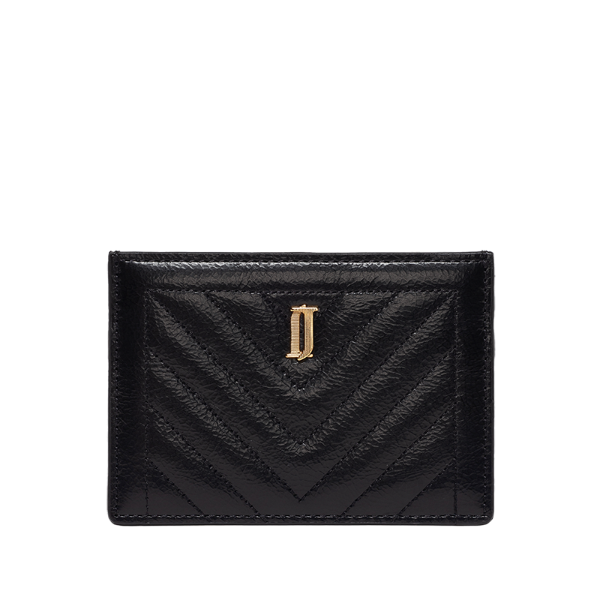 JOELLE QUILTING 카드홀더 BK (JSNCSF0BF334BK010)