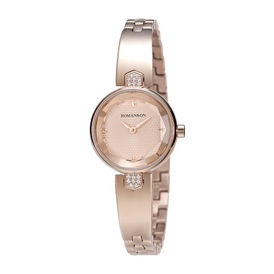 [대한시계][로만손] 여성 메탈 시계 (RWRMQL6A0400RGRG0)