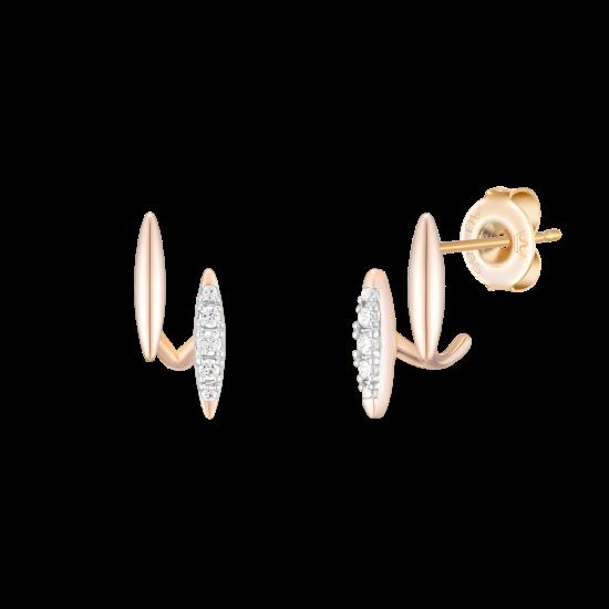 LUCENTO 귀걸이 (14K) (JJLOEQ0BF352C4000)