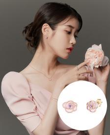 [아이유착장] ROSA 귀걸이 14K (JJL1EN0BF372R4000)