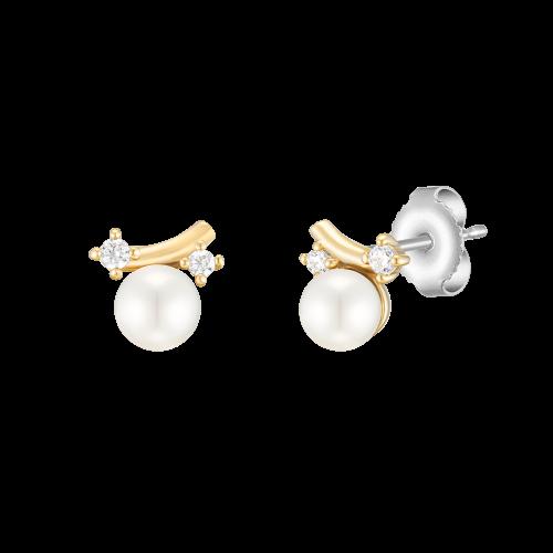 [패밀리세일] [시즌오프] [CONTE] Signature Pearl 귀걸이 (JJCEEI0BF560SY000)