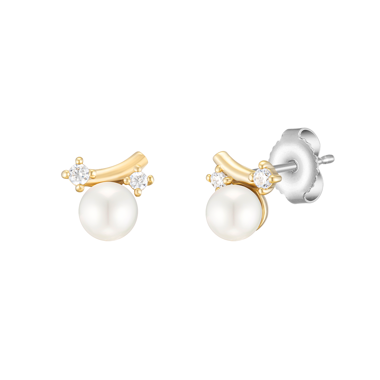 [CONTE] Signature Pearl 귀걸이 (JJCEEI0BF560SY000)