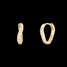 J e' te 14K 귀걸이 (JJJTEQ0BF143Y4000)