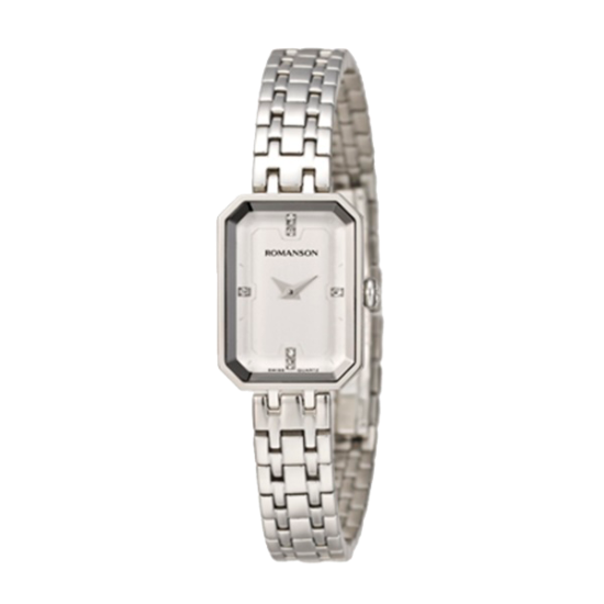 [로만손] 네오 클래식 여성 메탈 시계 (RWRMLL004207WHWH0)