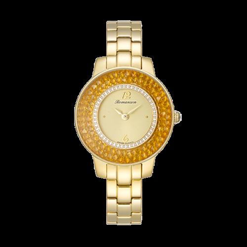 [패밀리세일] [로만손] 여성 메탈 시계 (RWRMQL7A2900GOGO0)