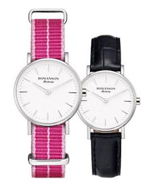 [로만손] 여성 나토밴드 시계 (RWTLLL6A3000WHSI0)