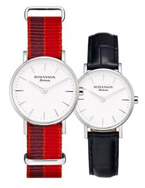 [로만손] 여성 나토밴드 시계 (RWTLLL6A3000WHSI1)