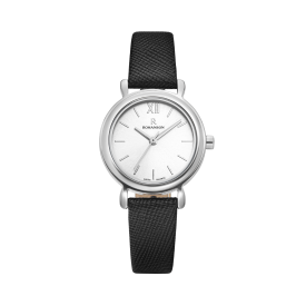 [로만손] R 레나타 미니멀 여성 가죽 시계 (RWRLLL0B2000WHSI0)