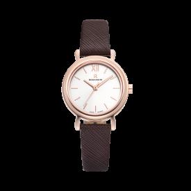 [로만손] R 레나타 미니멀 여성 가죽 시계 (RWRLLL0B2000RGCR0)