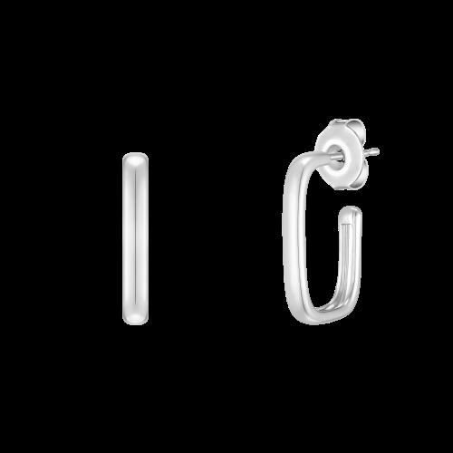 [당일발송] [CONTE] Square hoop 귀걸이 (JJCEE01BS412SW000)