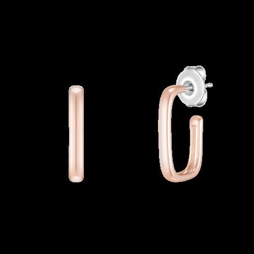 [당일발송] [CONTE] Square hoop 귀걸이 (JJCEE01BS413SR000)