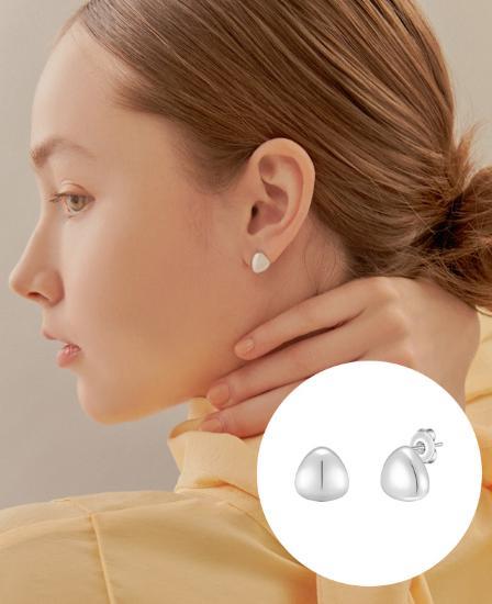 [CONTE] Triangel 귀걸이 (JJCEE01BS421SW000)