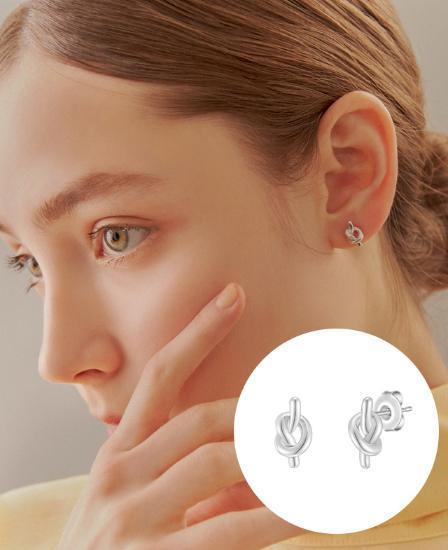 [CONTE] Étrive 귀걸이 (JJCEE01BS420SW000)