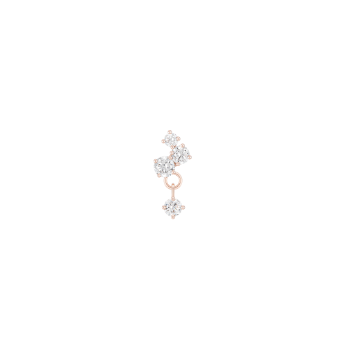 LUCENTO 14K 싱글 피어싱 (JJLOEQ1BS681R4P00)