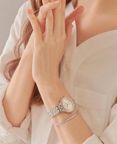[콘테팔찌 증정] R 레나타 다이아 여성 메탈 시계 (SET-R0-LL0B1900WH)