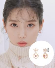 [아이유착장] Pink Mioello 귀걸이 (JJMEEQ1BS401SR000)