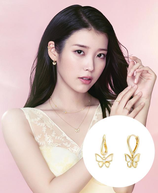 [아이유PICK] LA POEME 14K 귀걸이 (JJL1EN1BS259Y4000)