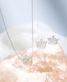 Bellissima Tiara 목걸이+귀걸이 세트 (SET-J0-1089)