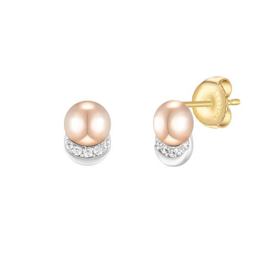 ARCO PERLINA 14K 귀걸이 (JJP1EQ1BS187C4000)