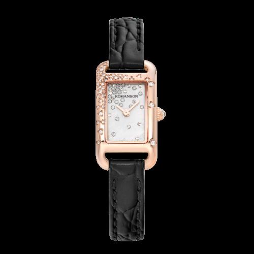 [로만손] 여성 가죽 시계 (RWRLQL1B0900RGSI0)