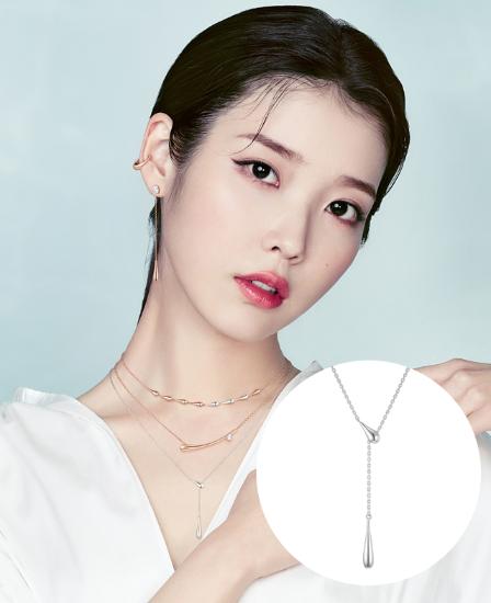 [아이유착장] J è te 목걸이 (JJJTN01BS017SW490)