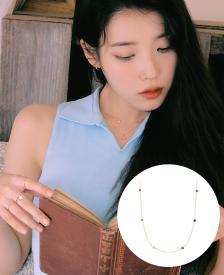 [아이유PICK] J è te 14K 목걸이 (JJJTNQ1BS027R4420)