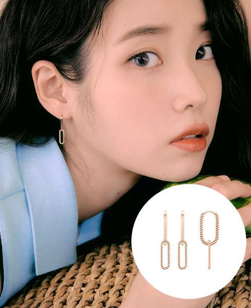 [아이유착장] J è te 14K 귀걸이 (JJJTE01BS102R4000)