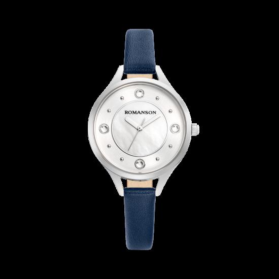 [로만손] 여성 가죽 시계 (RWRLLL0B0400WHSI0)