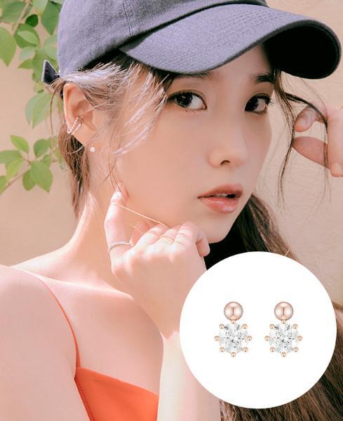 [아이유착장] J è te 14K 귀걸이 (JJJTEQ1BS057R4000)