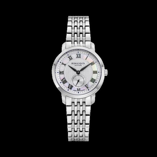 [로만손] 여성 메탈 시계 (RWTMLL9A2400WHSI0)