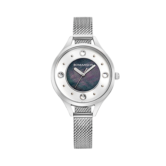 [로만손] 여성 메탈 시계 (RWRMLL0B0400WHBK0)