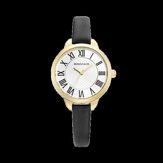 [로만손] 여성 가죽 시계 (RWRLLL0B0500GOSI0)