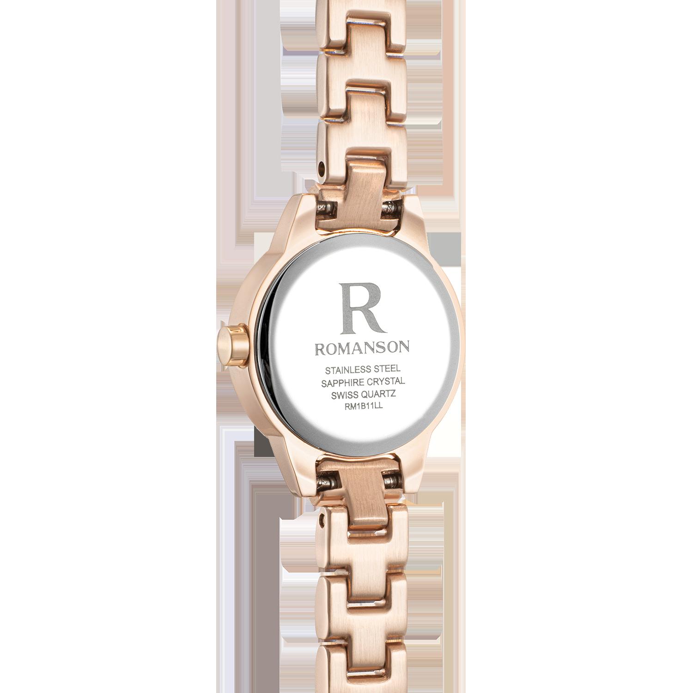 [로만손] R 레나타 베이직 여성 메탈시계 (RWRMLL1B1100RGSI0)