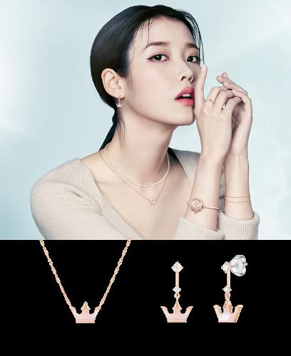 [아이유PICK] JOELLE 목걸이+귀걸이 세트 (SET-J0-1101)