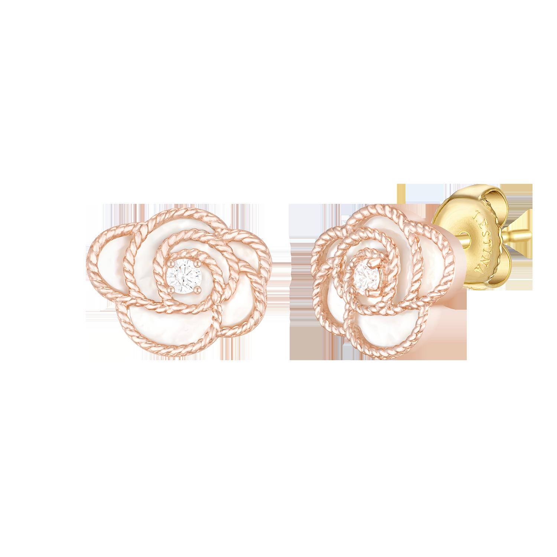 [아이유PICK] ROSA 14K 귀걸이(JJL1EN1BF272R4000)